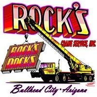 Rock's Crane Service